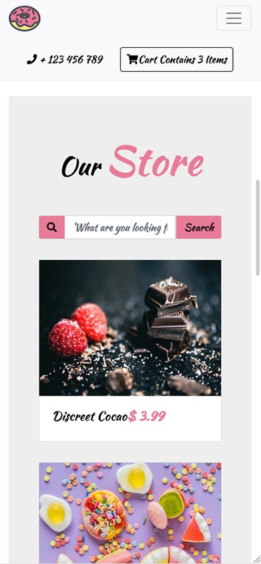 Select a Bootstrap template to have your shopping cart website nicely designed