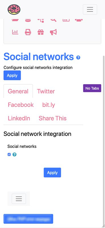 Social Network integration to ease your marketing actions